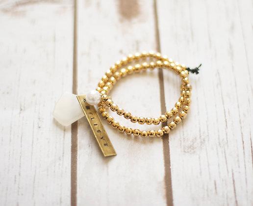 Believe Wrap Bracelet