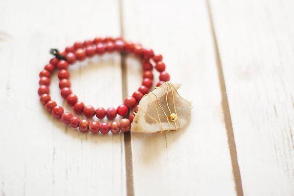Geode Wrap Bracelet