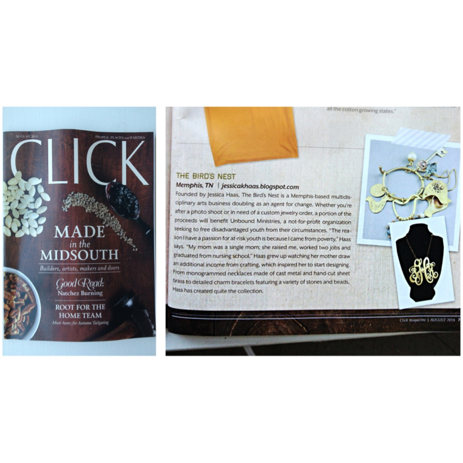 The Birds Nest Co. is in CLICK mag!