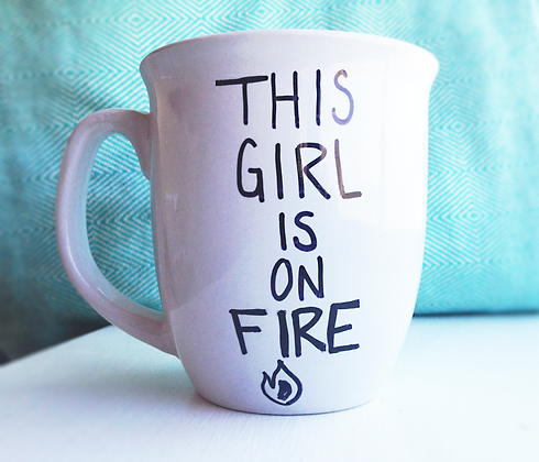Alicia Keys Inspired Coffee Cup