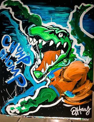 Florida Gators Halftime Performance Speedpainting