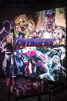 Avengers Speedpainting