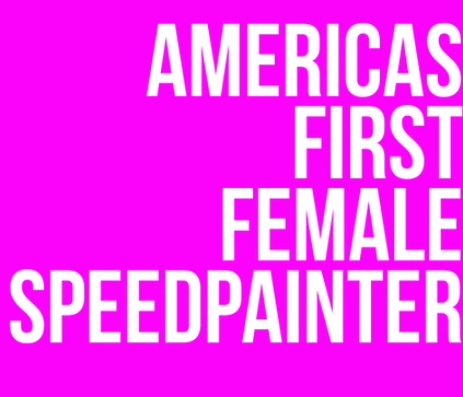 female speed painter Jessica Haas