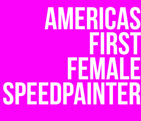 Speed painter Jessica Haas
