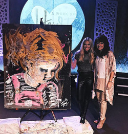 Thank you so much for having me Alabama! Reflecting on this performance painting- It was so special