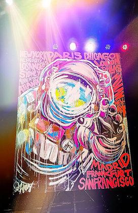 Astronaut Speedpainting by Jessica K. Haas
