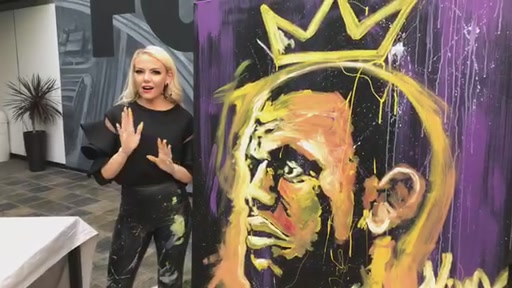 SPEEDPAINTING! 🎨 Join Vanessa Borge and Megan Colarossi after Good Day L.A. as we watch America's first female speedpainter Jessica K. Haas in action. She holds the record for performing the fastest live painting on national television. She'll also b