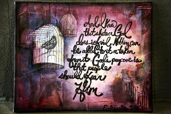 Graphic + Scripture art