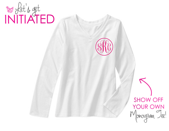 Personalized Monogram Shirt