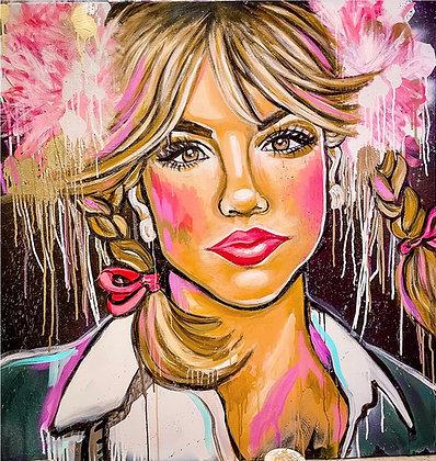 Britney Spears Speedpainting by Jessica Haas