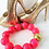 Thumbnail: Neon Pink + Glitter statement necklace