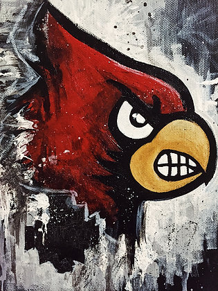 Halftime Series: Cardinals Nation Painting
