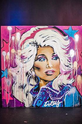 Dolly Parton Speedpainting
