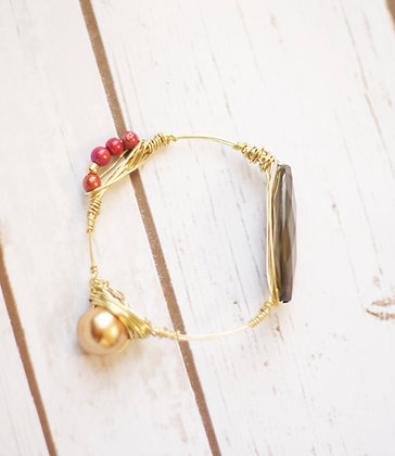 Eclectic Wire Bangle Set