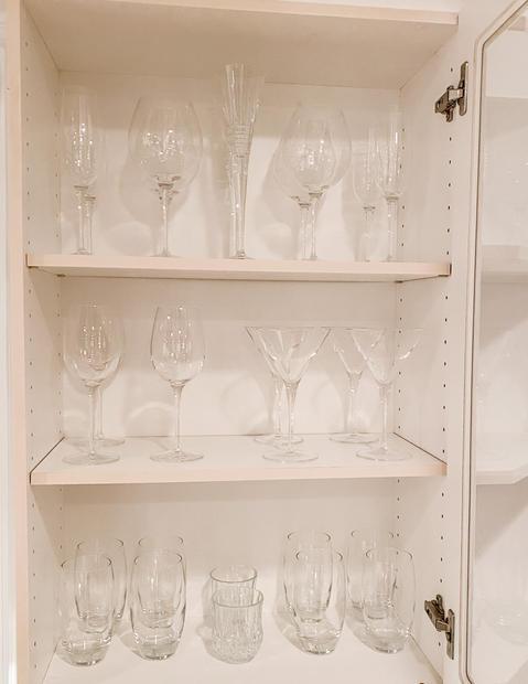 Kitchen Cabinet Organizing