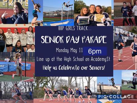 BBP Girls Track Senior Day Parade