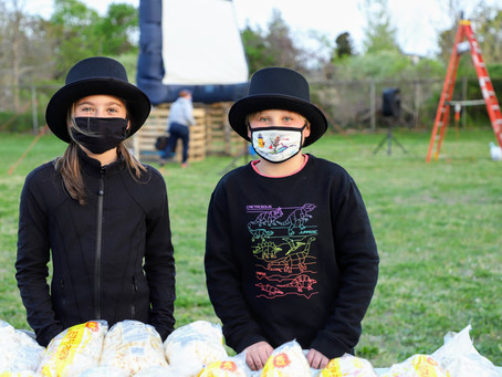 Two Students Bring Movie Night to BPE