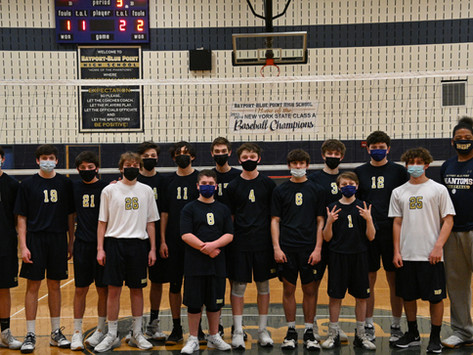 BBPHS Boys' Volleyball Takes the Court for the First Time