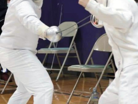 Fencing with Bobby Newbeck!