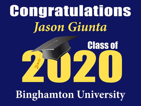 Custom Class of 2020 Lawn Signs