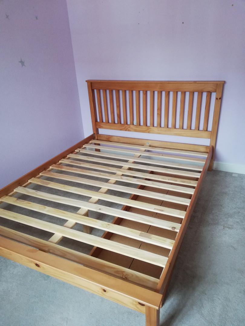 Double Bedframe Dismantle
