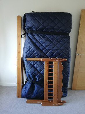 Bed Dismantled and Protected