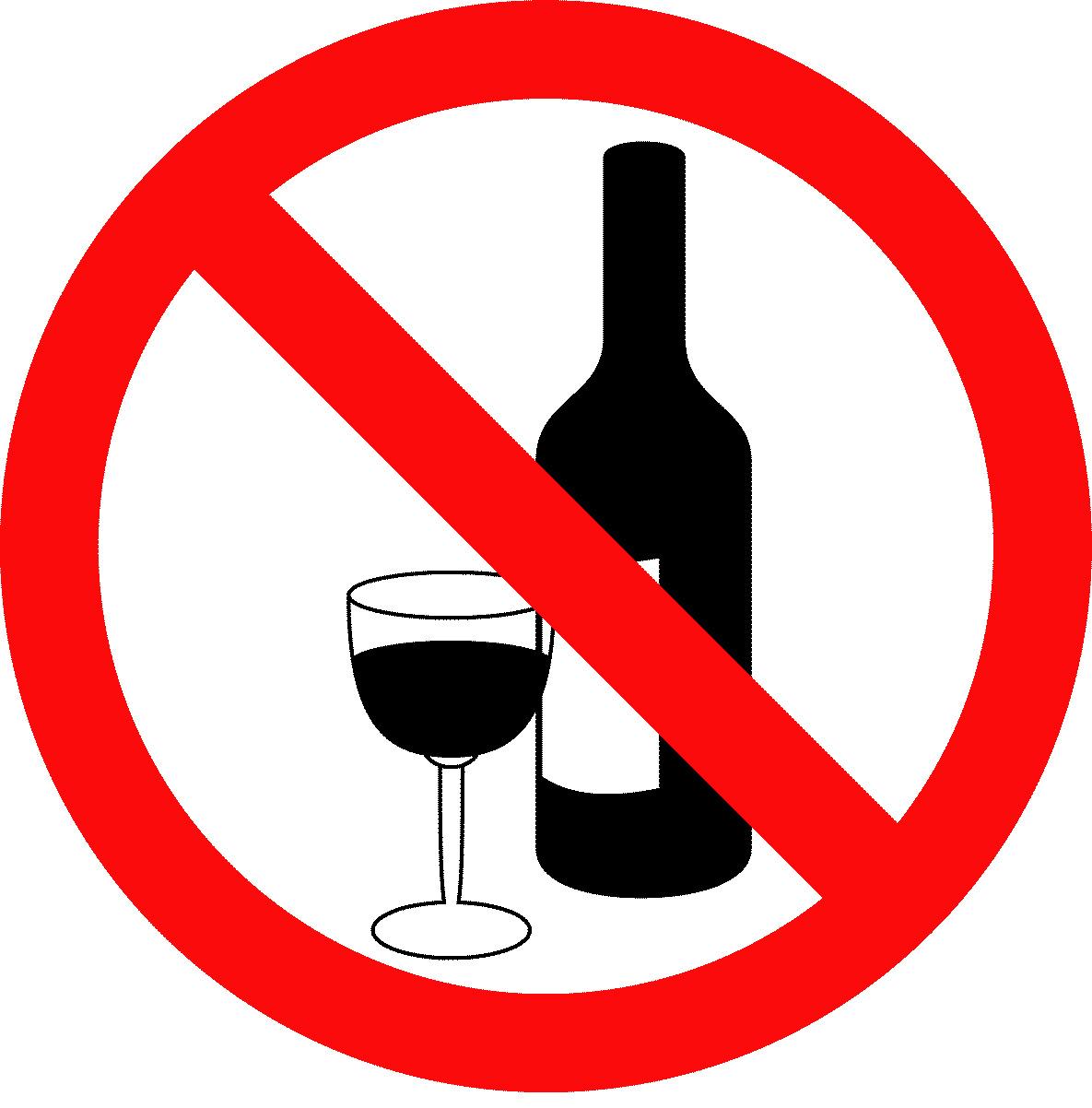 No bebidas alcoholicas