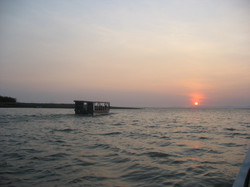 Sunset by the river mouth.jpg