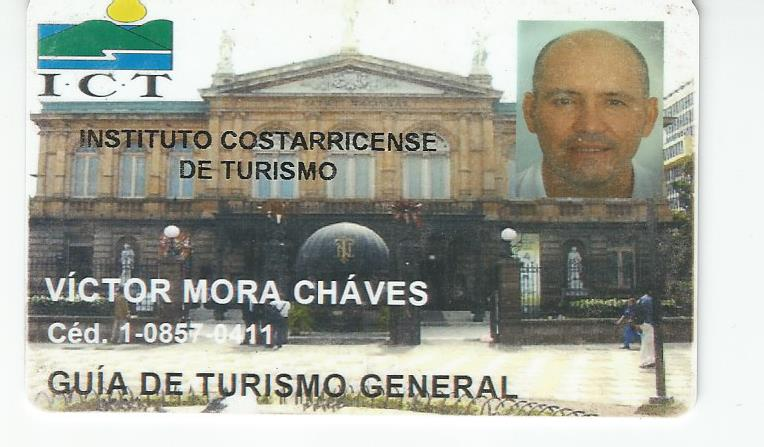 Costa Rican Tour Guide Licence by Costa Rican  Goverment.jpg