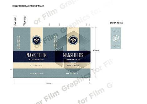 Fictional cigarette soft packet