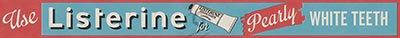 Listerine toothpaste bus advert