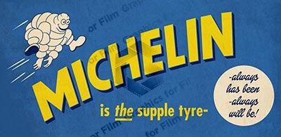Michelin Tyre Advert - 1930s