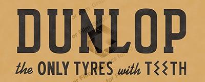 Dunlop bus advert