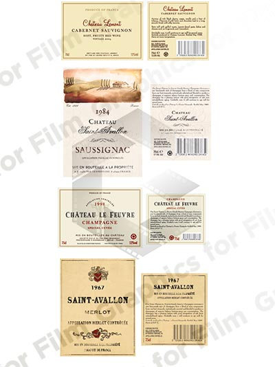 8 Wine Labels