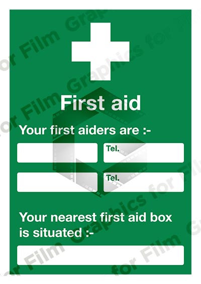 A4 First Aid Notices