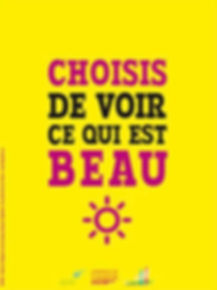 poster positive attitude paroles de sage