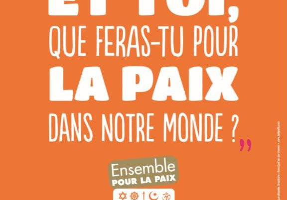 Kit 6 posters Ensemble pour la Paix 30x40cm