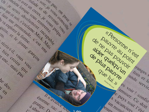 """30 images marque-pages """"Aider"""""""