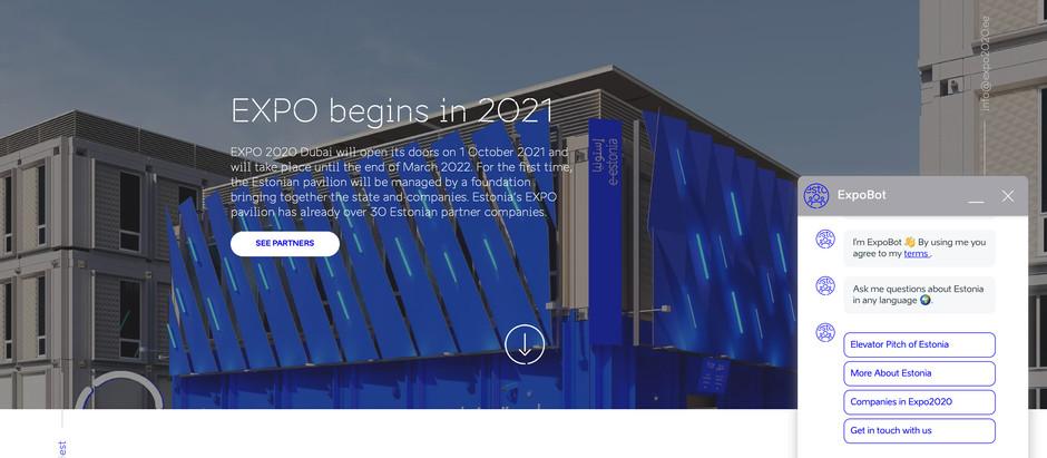 Juturobot tutvustab Eestit igas maailma keeles