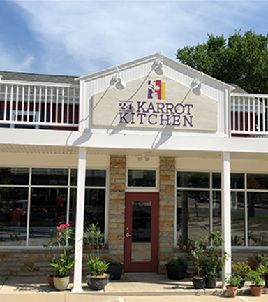 24 karrot kitchen cafe storefront located at 5079 Mill Rd. Breckville Ohio 44141