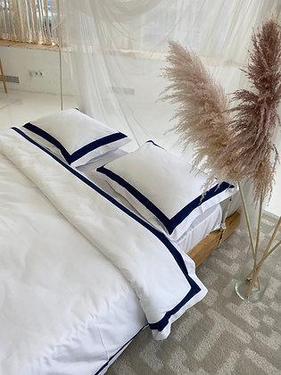 Комплект постельного белья Нава с премиальной отделкой