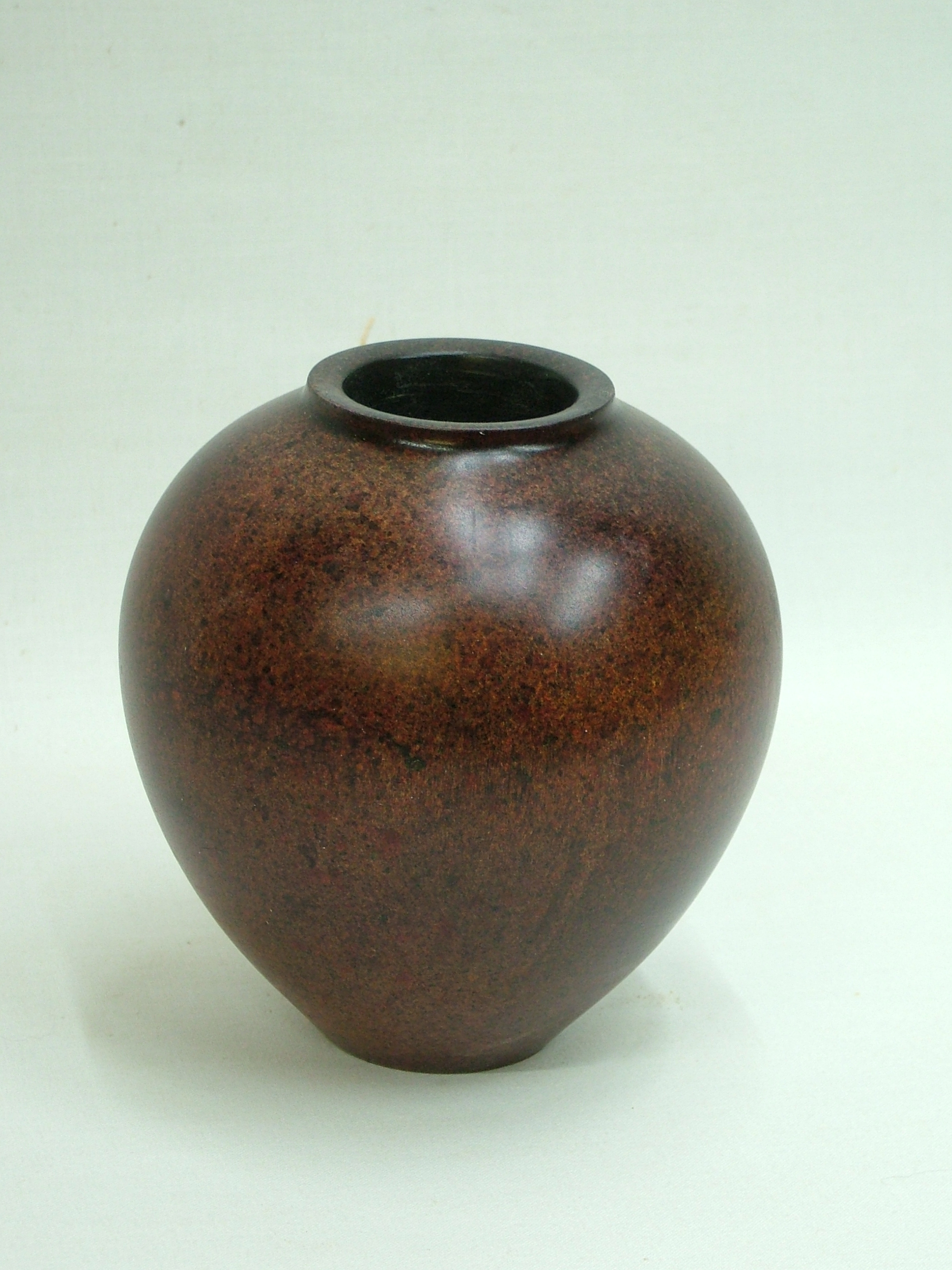 coloured hollow form in sycamore