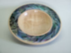 Colin Simpson, woodturning