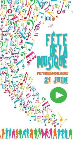 10x21cm • fête de la Musique
