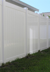 Emboss Vinyl Fence