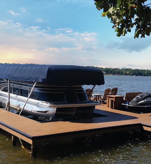 MArina Dock Red Cedar