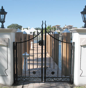 Aluminum  Black Diamond Top Gate