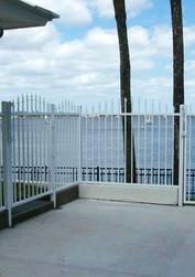 Estate Aluminum Picket Fence