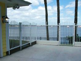 Aluminum Estate Picket Fence