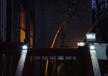 Solar Wedges Railing